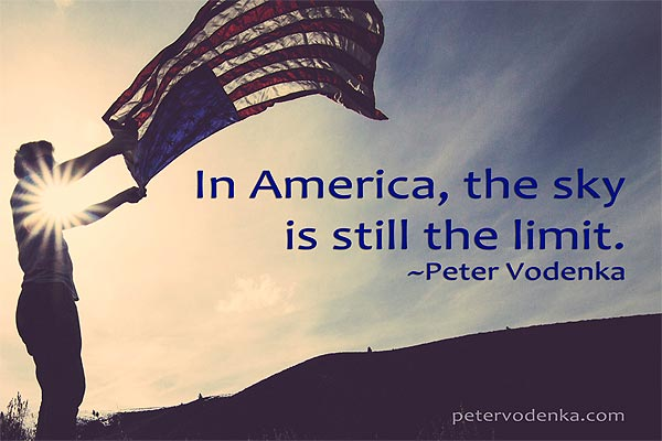About Peter Vodenka - In America Quote