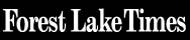 Peter Vodenka in the News - Forest Lake Newspaper Logo
